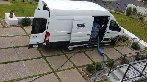 Elite Floor and Furniture Cleaning Van